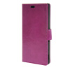MOONCASE Smooth PU Leather Flip Wallet Card Slot Bracket Back чехол для Sony Xperia M4 AQUA Purple sony xperia m в спб purple