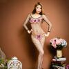 Цветы ангел сексуальный соблазнительный сиамская одежда забава нижнее белье рыболовная сеть одежда часть носки одежда костюм костюм взрослые секс-игрушки 882 roxana одежда