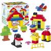 HUI MEI небольшой зоопарк куски крупных частиц пластиковых строительных блоков детские развивающие игрушки для более чем 3-х лет (66) HM168 danniqite развивающие игрушки большие детские кубики 12 зодиакальных знаков года рождения 1 3 6 лет 160 кусков cdn 4138