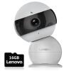 Lenovo версия смарт-камеры 16G карта TF смарт дома удаленный беспроводной веб-камеры безопасности дома мониторинга ночного видения высокой четкости видеть интеллектуальный Цзябао снеговика веб камеры и тв тюнеры