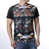 Лифтинг Пуловеры с круглой шейкой Печатные футболки для мужчин