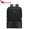 Oiwas регулируемые мужчины женщин нейлоновый рюкзак случайные сплошной цвет бизнес-сумка Travel School Notebook Bag Black Лучший п