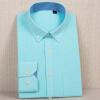 Черные белые случайные рубашки мужские рубашки мужская мода 2018 лето Обычная рубашка рубашка figl рубашки приталенные