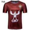 Новая мужская мода футболка Высокое качество Повседневная спортивная футболка Футбольная кубок Мемориальная футболка футболка незнакомка футболка