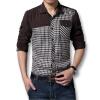 в мужской рубашки, осень - весна в 2016 году мужской моды, с длинными рукавами и случайные хлопок мужчин рубашки новый стиль рубашки горячей продажи