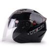 Mustang (Yema) 625 двойной объектив мотоциклетный шлем зимний шлем половина шлем электрический автомобиль мужчины и женщины Four Seasons Общие Размер Brilliant Black мото шлем mustang 619