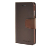 MOONCASE чехол для iPhone 6 (4.7) PU Leather Flip Wallet Card Slot Stand Back Cover Coffee mooncase чехол для iphone 6 plus 5 5 pu leather flip wallet card slot stand back cover gold