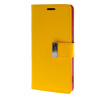MOONCASE чехол для Sony Xperia Z3 Flip Leather Wallet Card Slot Bracket Back Cover Yellow mooncase чехол для sony xperia t3 flip leather wallet card slot bracket back cover yellow