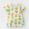 Европейское и американское платье из ветрового бренда, летнее платье нового детского юбки из детской юбки из детской одежды.