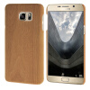 MOONCASE чехол для Samsung Galaxy Note 5 Wood Skin Hard Rubber Back Cover Wood-Brown mooncase litchi skin золото chrome hard back чехол для cover samsung galaxy s6 edge красный