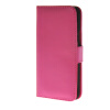 MOONCASE Smooth skin Leather Side Flip Wallet Card Holder Stand Pouch ЧЕХОЛДЛЯ HTC One M9 Hot pink mooncase slim hard board leather side flip wallet stand pouch чехолдля htc one m9 red