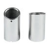 racing exhaust muffler universal 304 stainless steel motorcycle car exhaust muffler kapeier c121 universal stainless steel car exhaust pipe muffler tip