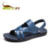 Kang Long мужские модели открытые носки повседневная пляжная обувь черный 253117350 43 ярдов носки falke 14662 3000