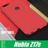 Корпус телефона NOZIROH для Nubia Z17S Мягкая силиконовая TPU задняя крышка крышка невыкипайка силиконовая в москве