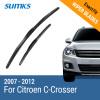 SUMKS Wiper Blades for Citroen C-Crosser 24&20 Fit Hook Arms 2007 2008 2009 2010 2011 2012 kyb car left shock absorber 338048 for citroen lifan 520 auto parts