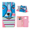 MOONCASE ЧЕХОЛДЛЯ Samsung Galaxy Note 5 Flip PU Leather Fold Wallet Card Slot Kickstand Back [Pattern series] /a05 mooncase чехол для samsung galaxy note 5 leather flip wallet style and kickstand case cover [cute pattern] design a09