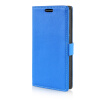 MOONCASE Litch Skin Leather Side Flip Wallet Card Slot Pouch Stand Shell Back ЧЕХОЛДЛЯ LG G3 Stylus D690 Blue mooncase litch skin leather side flip wallet card slot pouch stand shell back чехолдля lg g3 stylus d690 white