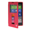 MOONCASE View Window Leather Side Flip Pouch Stand Shell Back ЧЕХОЛ ДЛЯ Nokia XL Hot pink чехол книжка nokia cp 632 для nokia xl черный