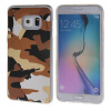 MOONCASE Samsung Galaxy S6 Edge Plus ЧЕХОЛ ДЛЯ Slim Soft Silicone Gel TPU Skin Protective Brown mooncase litchi skin золото chrome hard back чехол для cover samsung galaxy s6 edge браун