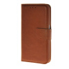 MOONCASE Leather Side Flip Wallet Card Slot Pouch Stand Shell Back чехол для Samsung Galaxy S6 Brown luxury stand flip