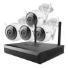 Флюорит 2 миллиона контрольный набор 4 Road 1T жесткий диск беспроводной камеры наблюдения домашний магазин техника 1080P открытый болт машины