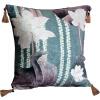 все цены на 60 * 60 см Ручная буддийская локусная вышивка Индивидуальный наволочка Свадебный номер Диван-стул Постельные принадлежности Декоративная подушка онлайн
