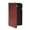 MOONCASE Slim Leather Side Flip Wallet Card Slot Pouch Stand Shell Back ЧЕХОЛДЛЯ LG F70 Brown