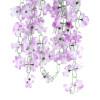 цветы 7.2feet гарланд завод искусственных поддельные азалия свадебные аксессуары фиолетовый