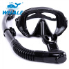 Whale Adult Diving Snorkel Set Anti Fog UV Protection Плавающая маска Freediving Mask Snorkel Set gull tusa mask snorkel set gull coco mask tusa sp0101 dry snorkel for woman