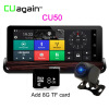 CU50 DVR 7 Touch Android Car Camera 3G WIFI Зеркало заднего вида DVR GPS Автомобильный видеорегистратор Dash Camera FHD 1080P Dual Lens мини wi fi машину dvr fhd 1080p фотоаппарат цифровой диктофон видеокамеру и кэм 220145