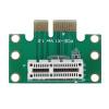 Новый PCI-E PCI Express 1X Адаптер Riser Card 90 градусов Для 1U Серверный корпус pci e 16x экспресс 90 градусов адаптер riser card для 2u серверные корпуса компьютера
