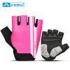 INBIKE Велосипедные перчатки Половина пальца Anti Slip Gel Pad Breathable Motorcycle MTB Дорожные велосипедные перчатки Мужчины Женщины Спортивные велосипедные перчатки