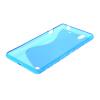 MOONCASE S - линия Мягкий силиконовый гель ТПУ защитный чехол гибкой оболочки Защитный чехол для Sony Xperia C4 синий защитный чехол sony lcm csvh
