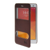 MOONCASE View Window Leather Side Flip Pouch Stand Shell Back ЧЕХОЛДЛЯ XiaoMi Rice MI 4 M4 Red roar korea noble leather stand view window case for iphone 7 4 7 inch orange