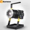 Rechargeable LED Floodlight 1000 Lumens CREE T6 LED Spotlight Garden Ground Light Zoomable Mobile Camping Emergency Tool Work Ligh