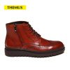 THEMUS Men's Boots Retro Series 001H1A-2 global global adv workbook