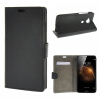 MOONCASE ЧЕХОЛ ДЛЯ Huawei Ascend G8 Premium PU Flip Leather Wallet Card Holder Bracket Back Pouch Black huawei ascend y6 black scl u31