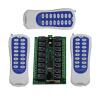 MITI 16-канальный DC 24V переключателя дистанционного управления 3 х передатчик + 1 х recevier беспроводной коммутатор Радио интеллектуальное управление коммутатор zyxel gs1100 16 gs1100 16 eu0101f