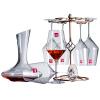Лорна (РОНА) европейский импорт высокий красное вино очки костюм Подарочный набор шесть комплектов (520ml красное вино * 6) домашние подарки и прекрасное вино стойки графин 1500ml дизао экспресс натур антиэйджинг маска для лица красное вино 10шт