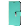 MOONCASE чехол для Samsung Galaxy Core 2 II Duos G355H Flip Leather Wallet Card Slot Bracket Back Cover Green ecostyle shell чехол флип для samsung galaxy core duos i8262 white