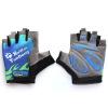 Код MG-500 высшего сорт езда движения противоскользящих перчатки половина пальца перчатка демпфер основного абсорбирующий зеленый цвет