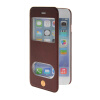 MOONCASE View Window Leather Side Flip Pouch Stand Shell Back ЧЕХОЛДЛЯ Apple iPhone 6 Plus Red mooncase view window leather side flip pouch stand shell back чехолдля apple iphone 4 4s red