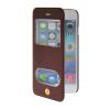 MOONCASE View Window Leather Side Flip Pouch Stand Shell Back ЧЕХОЛДЛЯ Apple iPhone 6 Plus Red аксессуар чехол cg mobile ferrari f12 flip для iphone 6 red fef12flp6re