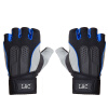 Мужские перчатки LAC тренажерный зал спортивные перчатки гантели тренажеры женская половина палец манжета верхом дышащие перчатки скольжения синий M код перчатки спортивные reebok перчатки спортивные