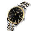 skmei 9101 мужчин из нержавеющей стали, веревку, аналог даты случайные relogio masculino наручные часы