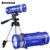 Professional Fishing Light 2 Color White Blue Lights Zoomable LED Flashlight Rechargeable Fishing Lights with Triangle bracket Set rechargeable led fishing light 1000 lumens professional 3 color white blue yellow zoom led flashlight display triangle bracket