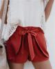 Женские шорты с уздечкой шорты женские