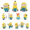 MyMei 1 комплект 12шт/набор Гадкий я 2 Миньоны Рисунок игрушки в розницу 96408