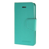MOONCASE чехол для iPhone 5G / 5S PU Leather Flip Wallet Card Slot Stand Back Cover Green камуфляжный защитный чехол для samsung galaxy s5