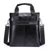 Знаменитый дизайнер ПОЛО Бренды Мужские деловые портфели Кожаные наплечные сумки для 14-дюймовой сумки для ноутбука Большая сумка для путешествий мужские сумки